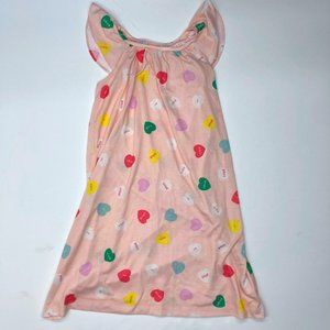 Crewcuts J.CREW Pink Candy Hearts Nightgown